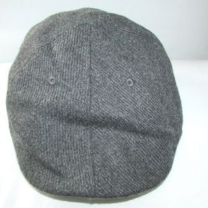 Perry Ellis Portfolio Grey Wool Driver Style Hat